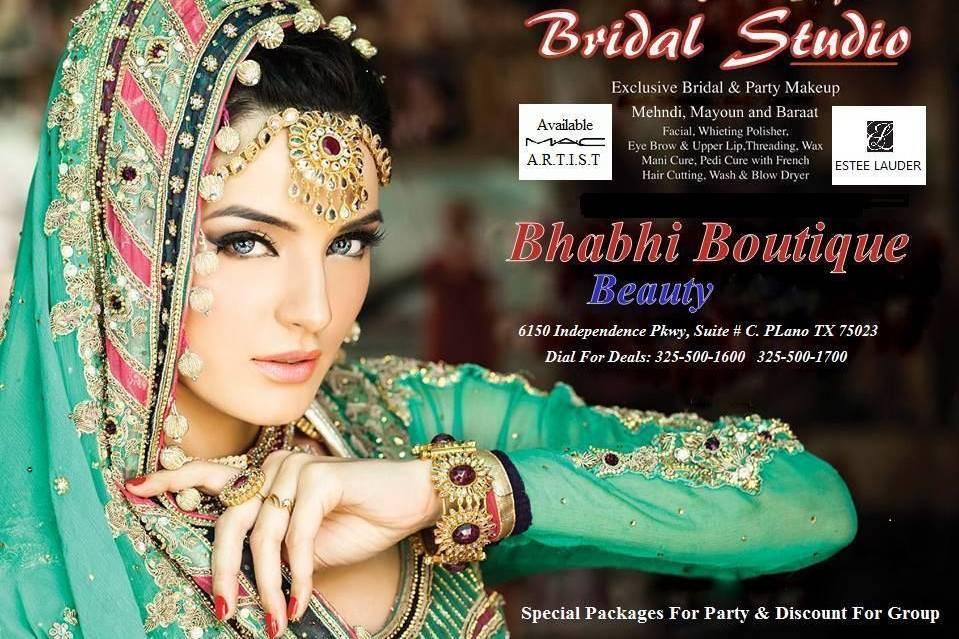 BHABHI BOUTIQUE AND BEAUTY SHOP
