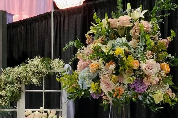 Bridal Fair set up