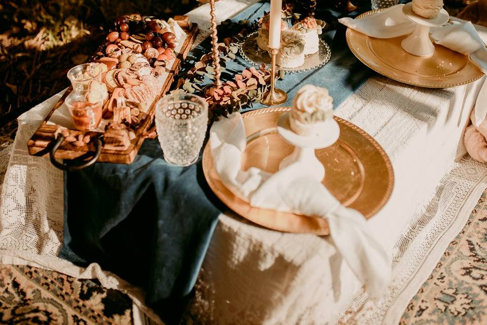 Daydream Elopement Table