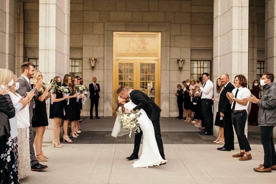 Draper Temple Wedding