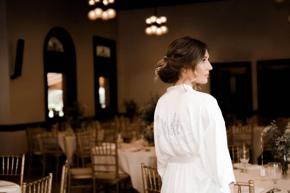 Bride in Event Room