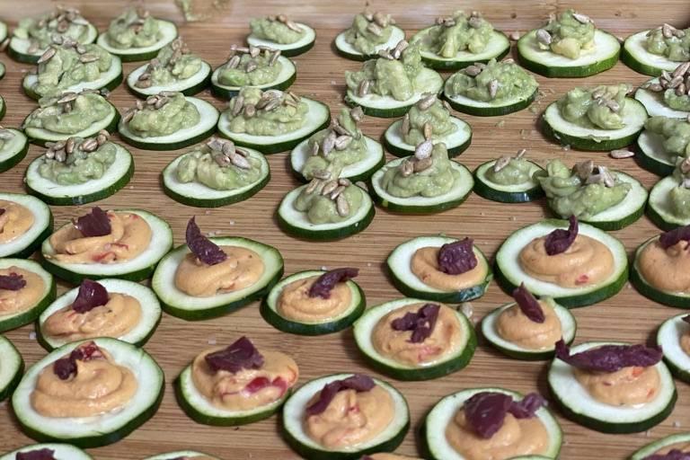 Zucchini Canapes