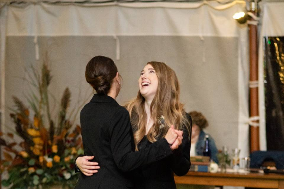 Daughter and Mother dance