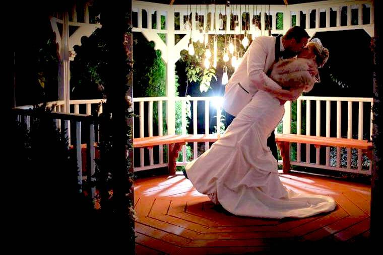 Feel like a princess in a fairy tale come true when you allow us to host your wedding!