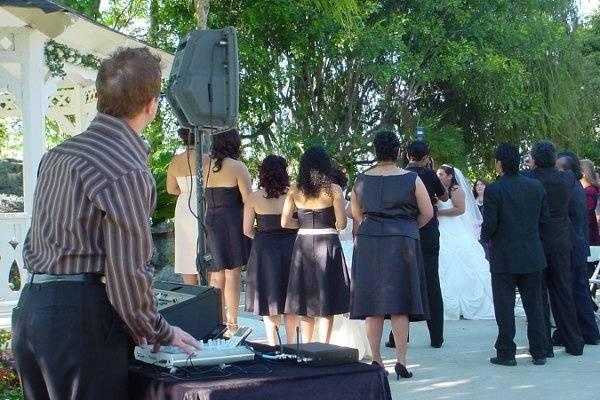 10-18-08 Outdoor ceremony