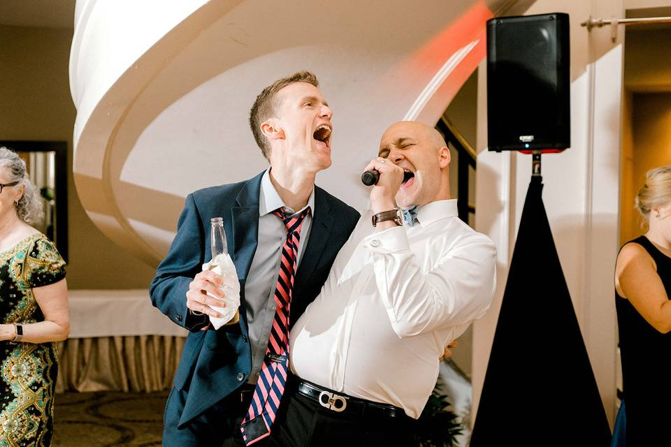 Always sing your heart out!