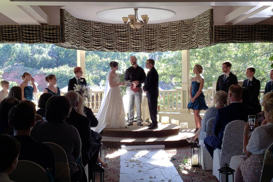 Ceremony at The Cliff House