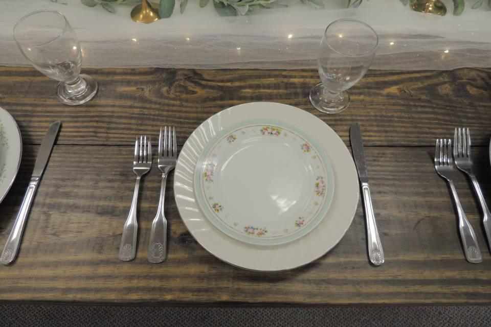 NEW Farm Tables!