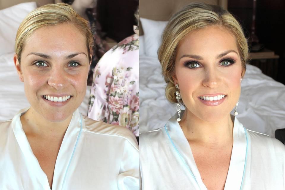 Bride - Eye makeup