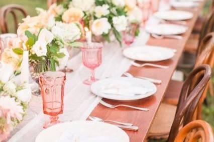 Table setup | Katelyn James Photography