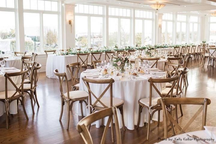 Pristine ballroom