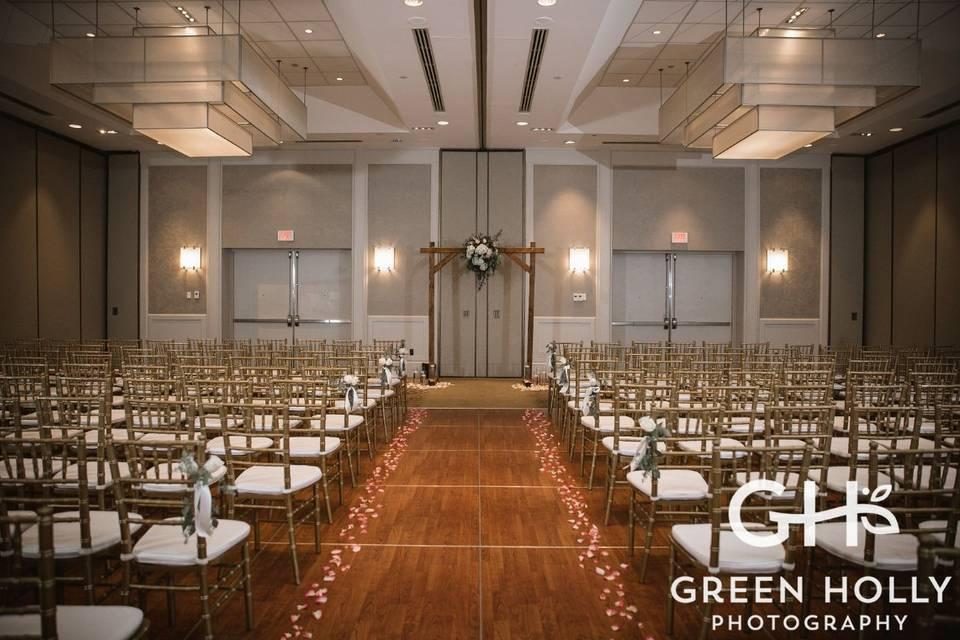Ceremony in Algonquin Ballroom