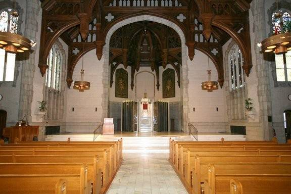 Provincial House Chapel at the University of Missouri-St. Louis