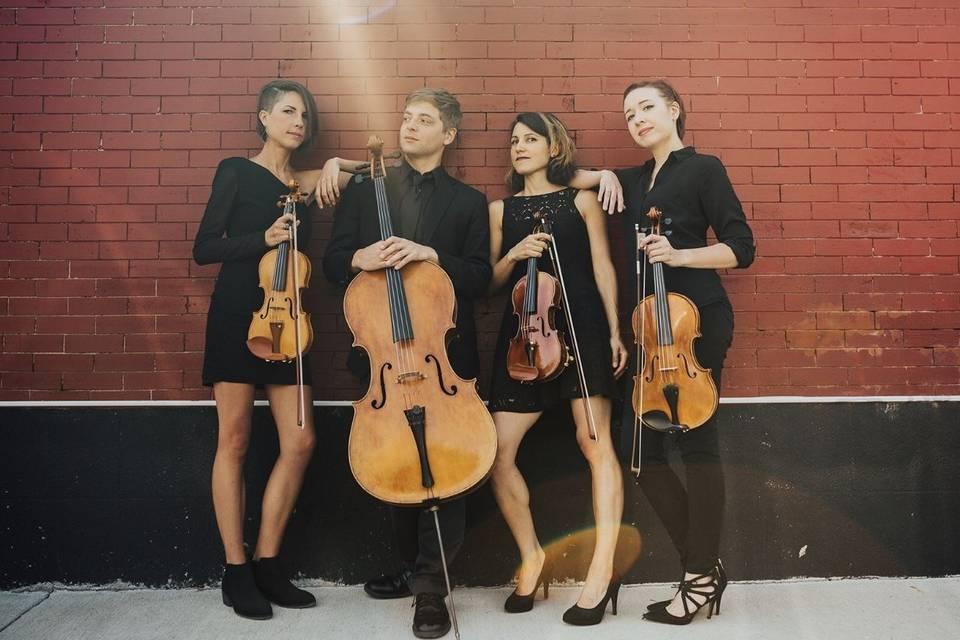 Red Rock String Quartet, downtown Denver