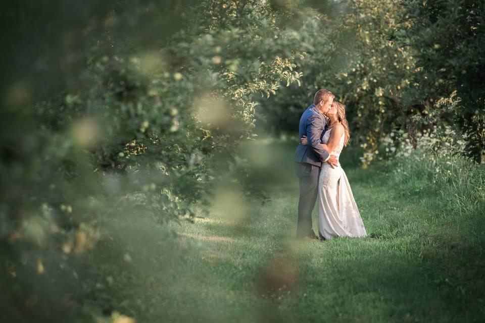 County Line Orchard wedding.