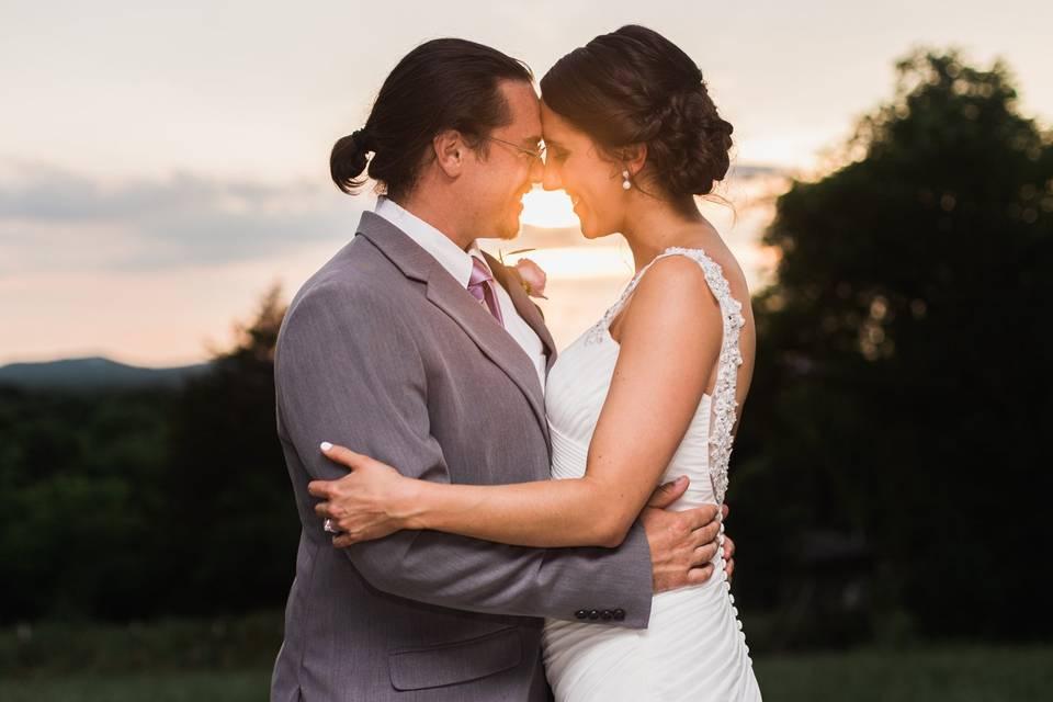 Sunset photo - Arkansas Wedding Collection