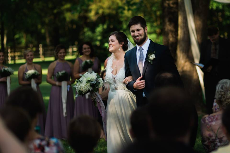 Just married - Arkansas Wedding Collection