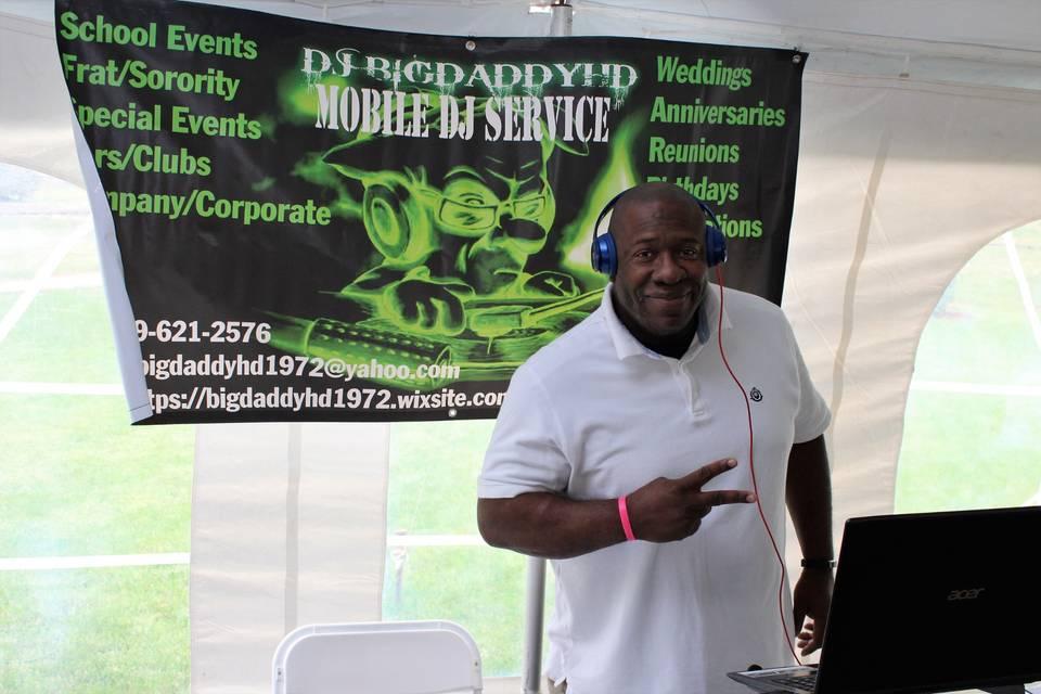 DJ BIGDADDYHD Mobile DJ Service