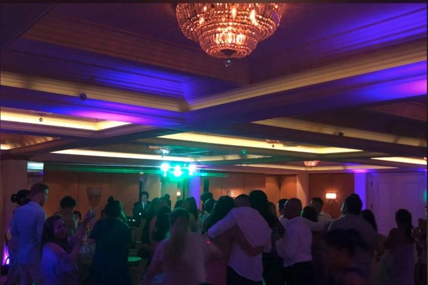 Dance Floor, La Valencia Hotel