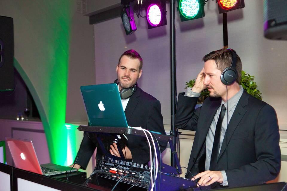 Experienced DJs