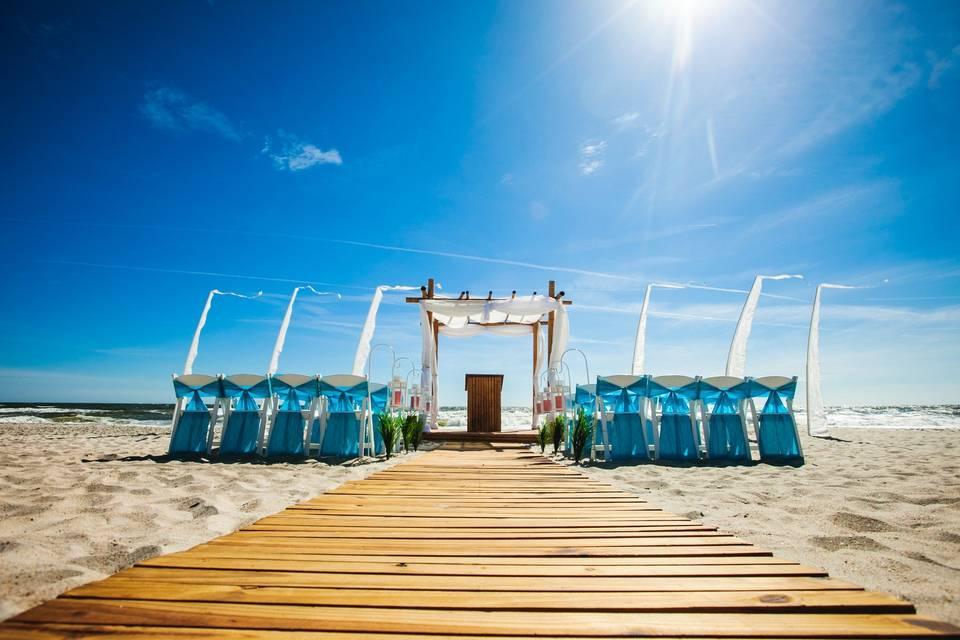 Perfect Beach Ceremony