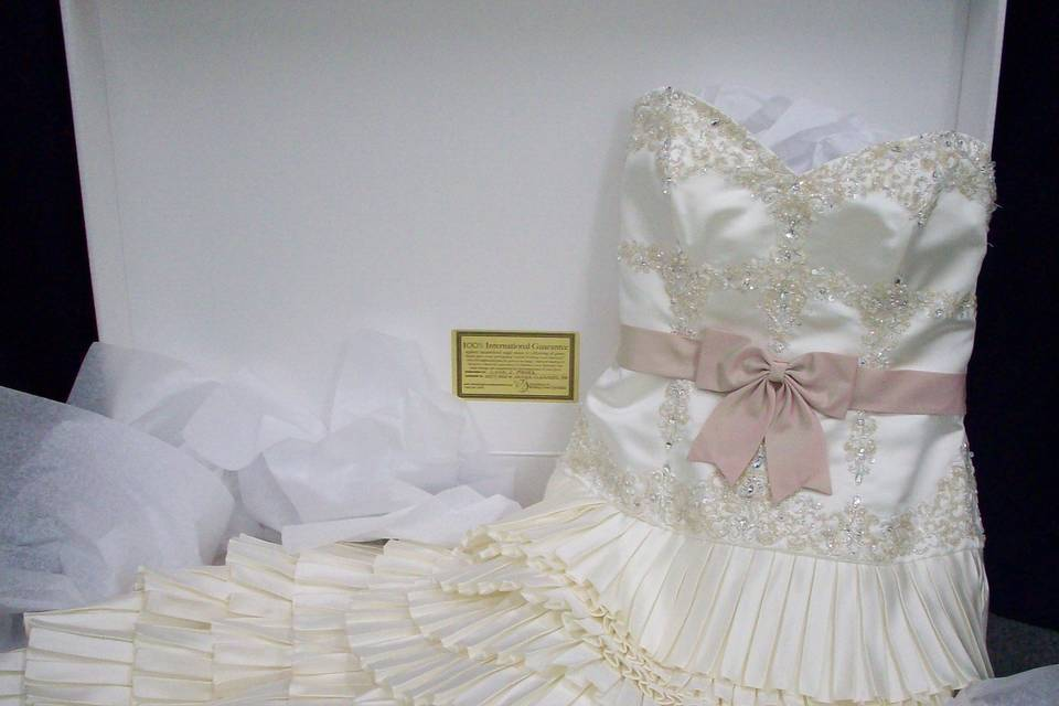 Sample gown