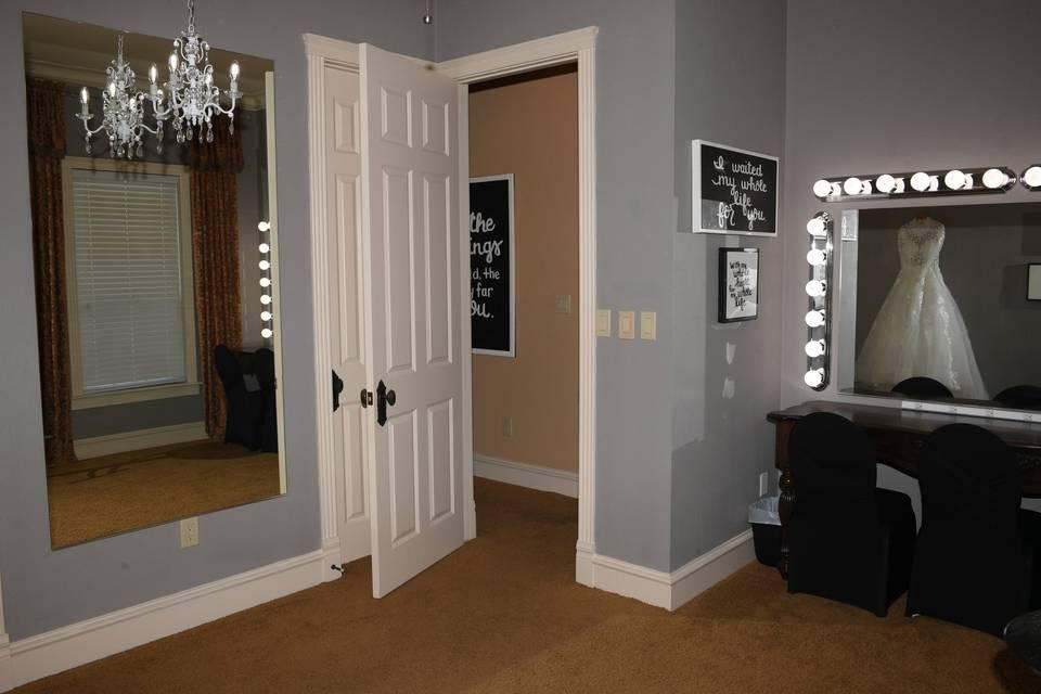 Upstairs Bridal Suite