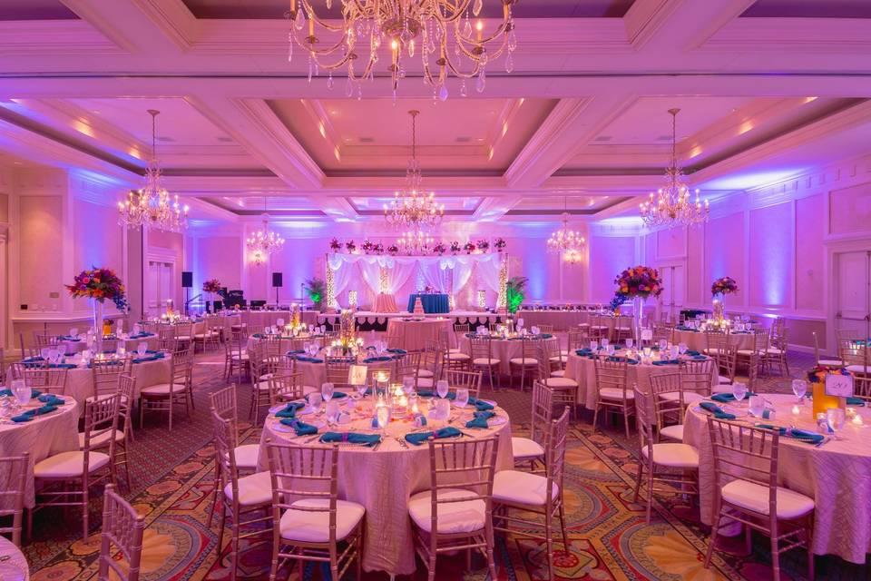 South Asian Wedding Reception