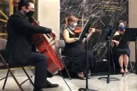 A string trio