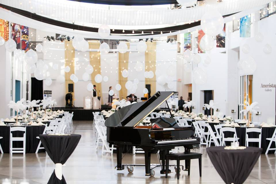 Piano is included with rental!