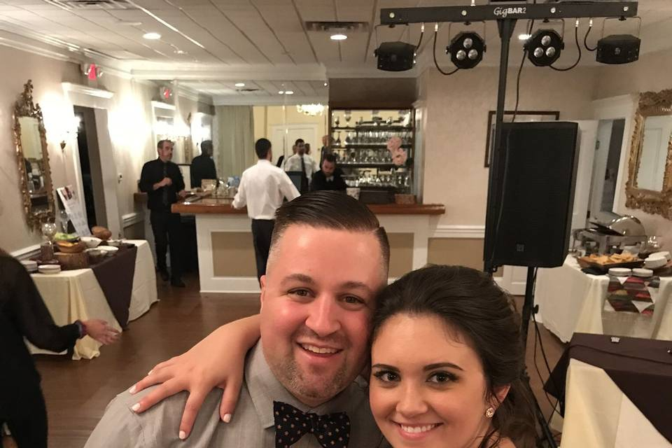 Bride and the DJ