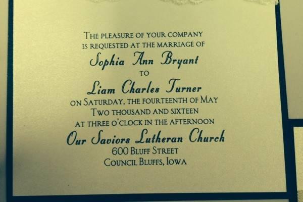 Divine Invitation Designs