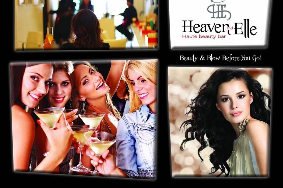 Heaven & Elle Haute Beauty Bar