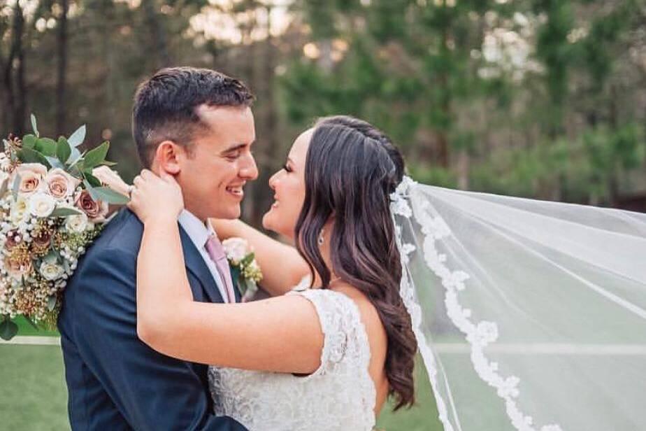 Luisa and her husband Broghan
