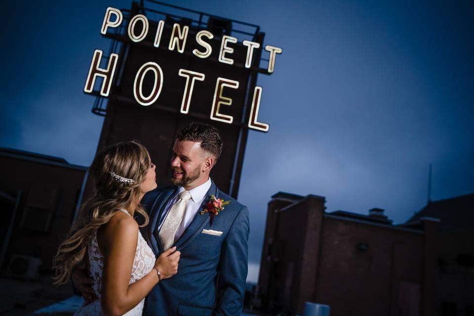 Couple wedding portrait - Angled Light Photography