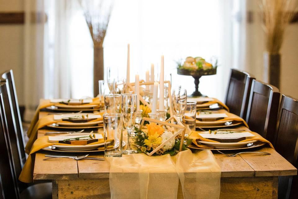 Boho Styled Table