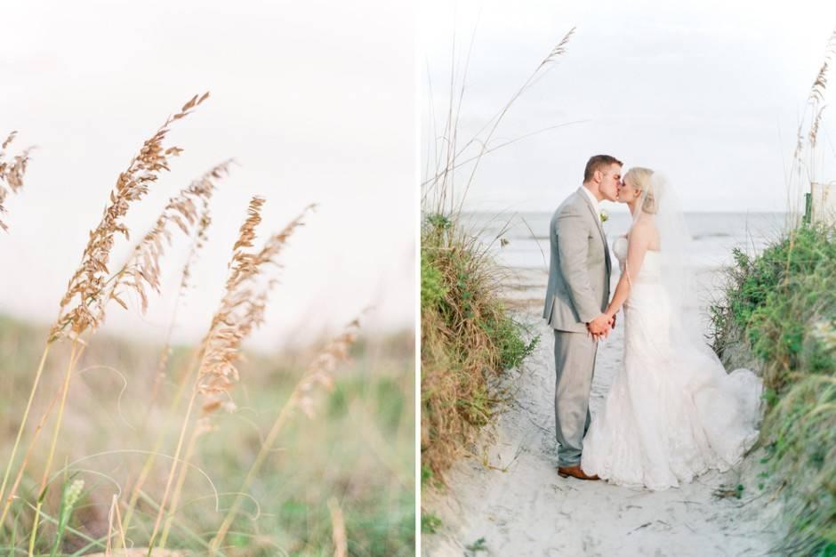 Bride and groom- Dunes
