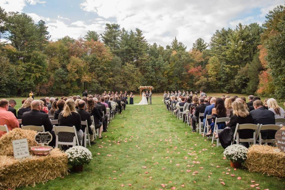 Fall field ceremony