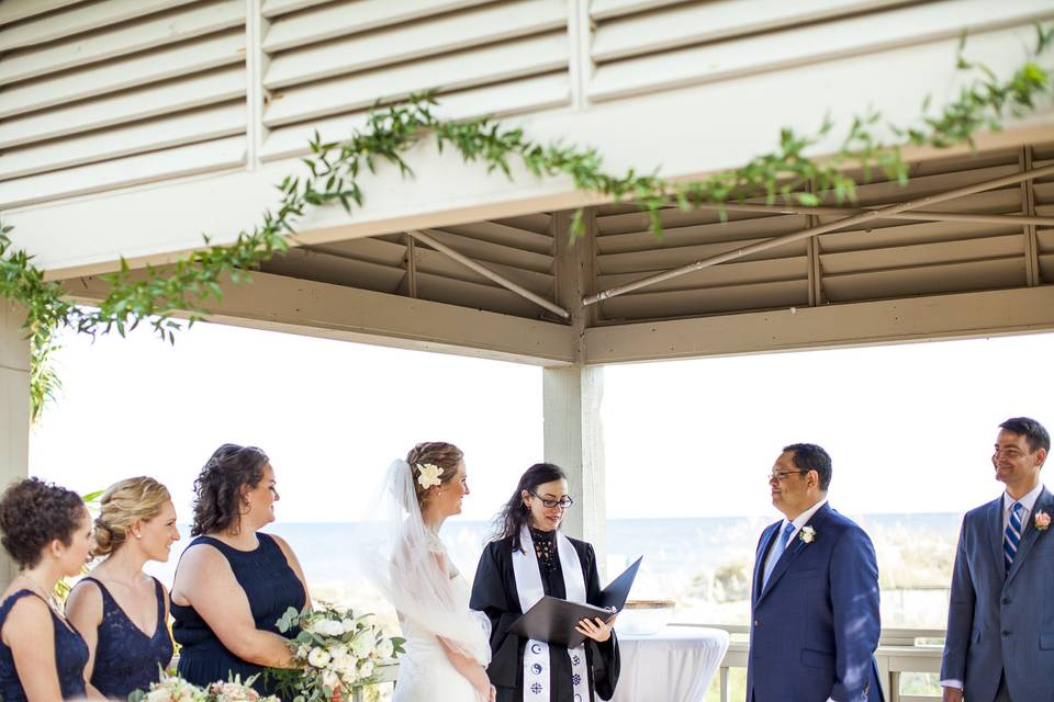 Wedding ceremony - Photo: Jade & Matthew Pictures