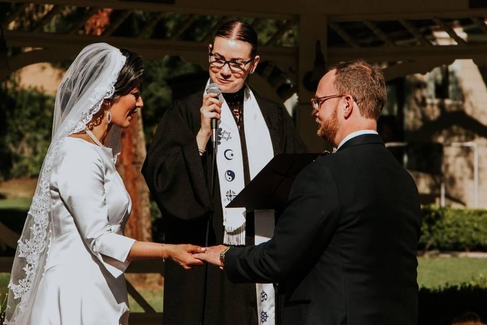 Rev. Mercy - Bilingual Wedding Officiant