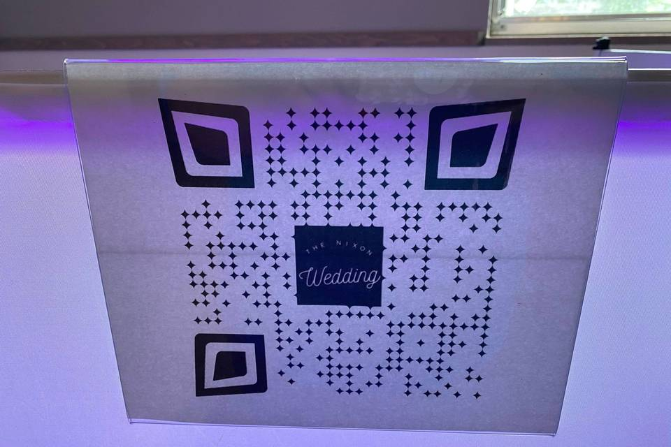 QR Code for Song Requests
