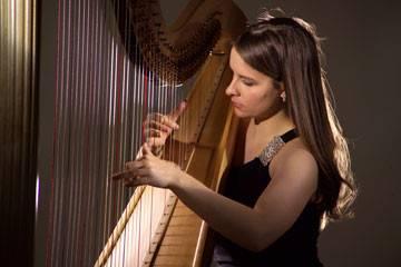 Harpist, Lisa Spurlock Gilmore