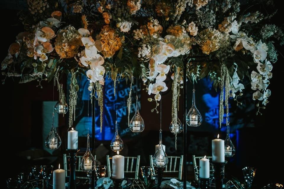 Indoor flower decors