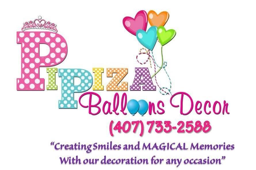Pipiza Balloons Decor