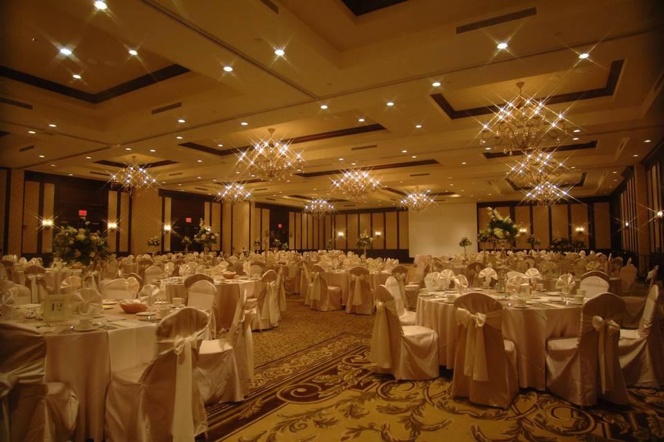 Cozy ballroom area