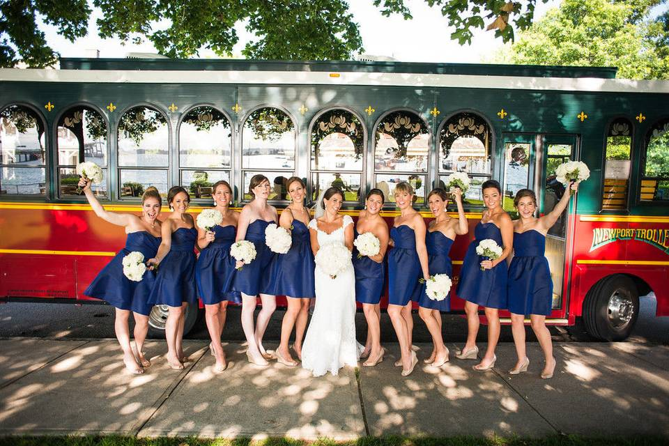 Viking Tours of Newport & The Wedding Trolley