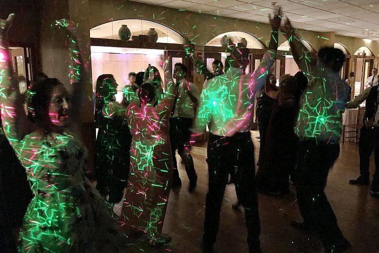 Dazzling dance lighting