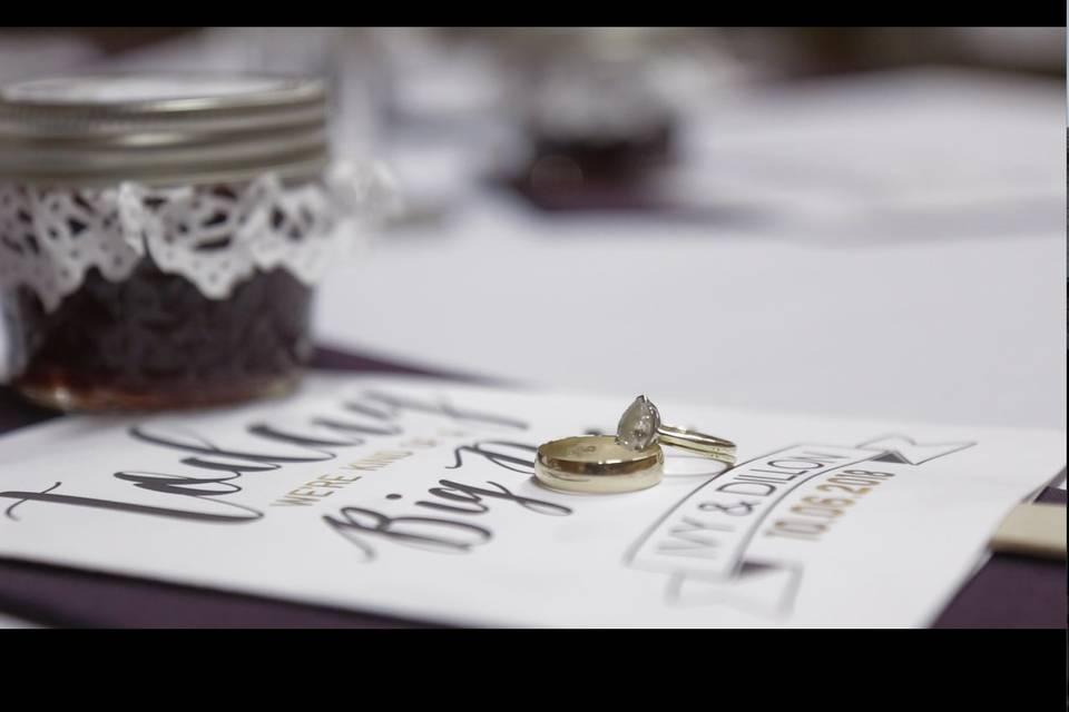 Wedding ring details - Endless Cinema