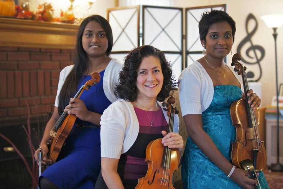 Tutti Dolce, The Violin Trio