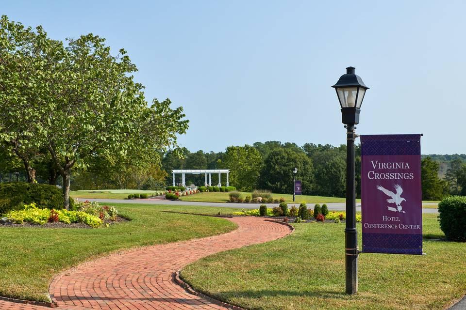 Virginia Crossings Courtyard